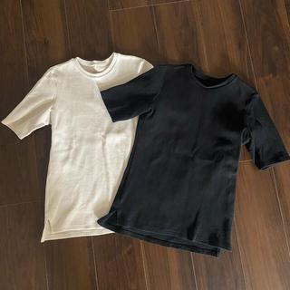 L'Appartement DEUXIEME CLASSE - アパルトモンドゥズィーエムクラス グッドグリーフ リブTシャツ2枚セット