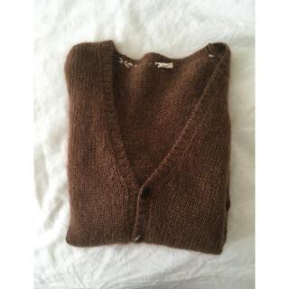 ロキエ(Lochie)のbrown cardigan(カーディガン)