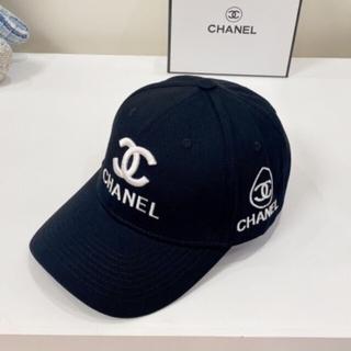 ★シャネル ★ シャネルノベルティキャップ黒 帽子