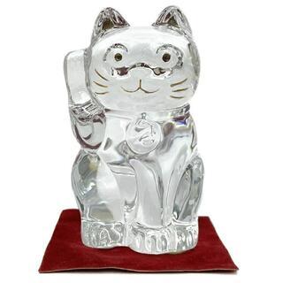Baccarat - バカラ オーナメント クリア 2607786 招き猫