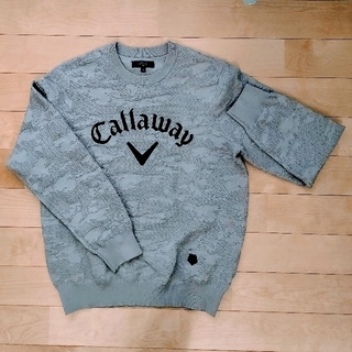 Callaway Golf - キャロウェイ クルーネックニット(Mサイズ)