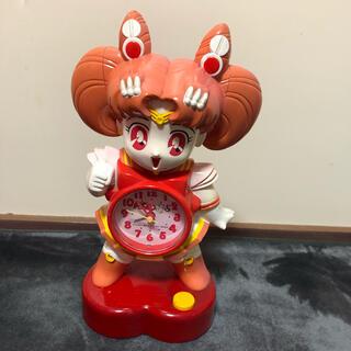 バンダイ(BANDAI)のセーラーちびムーン 時計 ジャンク品 (置時計)