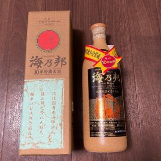 海乃邦 沖縄 10年貯蔵古酒(その他)