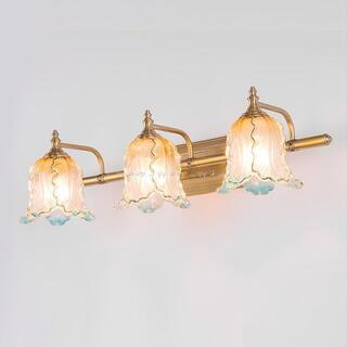 銅.壁掛け照明 壁掛け灯 インテリア照明 壁掛け灯 高級照明.ミラーライト.3灯