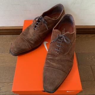 ビームス(BEAMS)の緊急値下げ BEAMS  革靴 スエード 26.5~27.0 美品(ドレス/ビジネス)