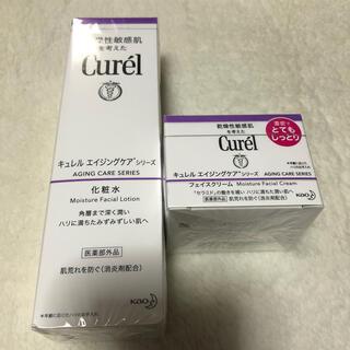 キュレル(Curel)のキュレル   エイジングケアシリーズ 化粧水&フェイスクリーム(フェイスクリーム)