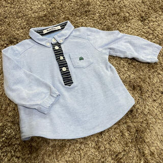 familiar - ファミリア長袖ポロシャツ90