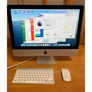 マック(Mac (Apple))のApple iMac 21.5インチ2014 美品(デスクトップ型PC)