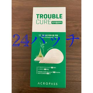 アクロパス トラブルキュアパッチ リューアル版 トラブルキュア 24回(パック/フェイスマスク)