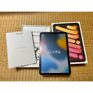 Apple - 【専用】iPad mini 第6世代 256GB WiFi ピンクAppleCa