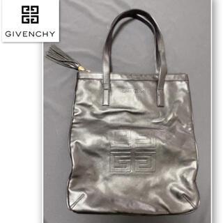 GIVENCHY - 美品★ジバンシー黒革レザートートバック