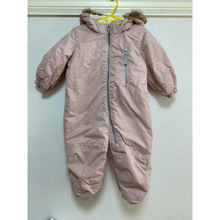 エイチアンドエム(H&M)のH&M 中綿オールインワンスーツ 86センチ(ジャケット/コート)