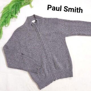 ポールスミス(Paul Smith)のPaul Smith ドライバーズニット・メランジ・グレー&ベージュ79568(ニット/セーター)