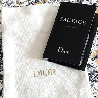 Dior - ディオール香水と巾着