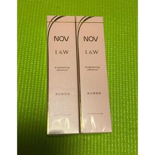 ノブ(NOV)のノブ l&w ブライトニングエッセンス   2本(美容液)