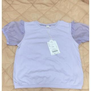 エフオーキッズ(F.O.KIDS)のアプレレクール シアースリーブTシャツ 110cm(Tシャツ/カットソー)