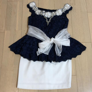 アン(an)のローブドフルール  ツーピース ドレス(ナイトドレス)