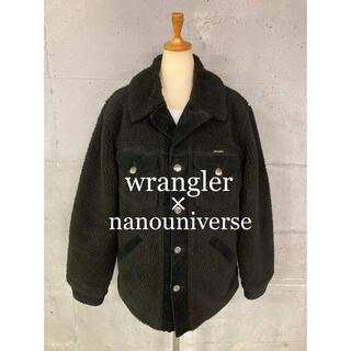 ナノユニバース(nano・universe)のwrangler×nanouniverseボアジャケット!(ブルゾン)