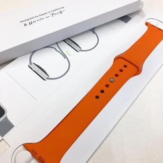 アップルウォッチ(Apple Watch)のアップルウォッチ エルメス スポーツバンド 44mm Apple Watch(ラバーベルト)