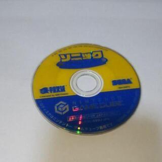 ニンテンドーゲームキューブ(ニンテンドーゲームキューブ)の≪任天堂GC≫ソニック メガコレクション(家庭用ゲームソフト)