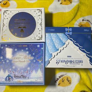 グッドスマイルカンパニー(GOOD SMILE COMPANY)の雪ねんどろいど雪ミクセット(キャラクターグッズ)