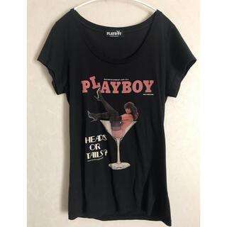 ヒステリックグラマー(HYSTERIC GLAMOUR)のヒステリックグラマー Tシャツ PLAYBOYコラボ(Tシャツ(半袖/袖なし))