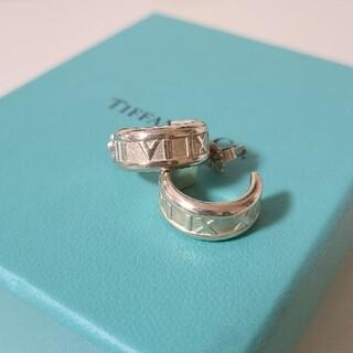 Tiffany & Co. - ティファニー アトラス フープ ピアス  925