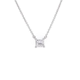 Tiffany & Co. - ティファニー  ダイヤ0.84ct E-VS2-3EX プリンセスカット
