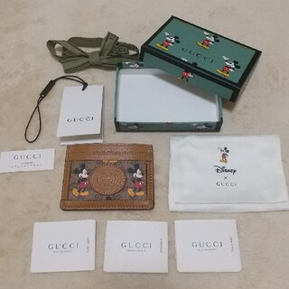 Gucci - 新品未使用正規品 ディズニー×グッチ カードケース