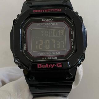 ベビージー(Baby-G)のCASIO baby-g Bgd-5000 タフソーラー 電波ソーラー ブラック(腕時計)