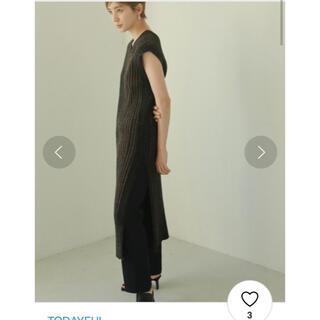 トゥデイフル(TODAYFUL)のtodayful Randomrib Knit Dress(ロングワンピース/マキシワンピース)