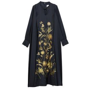 Ameri VINTAGE - MADELYN EMBROIDERY DRESS