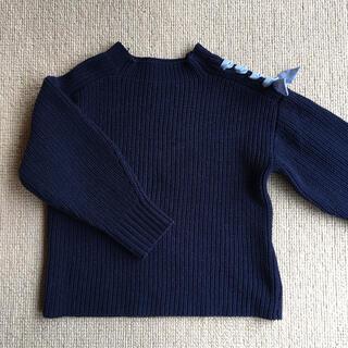 ザラキッズ(ZARA KIDS)のザラキッズ ザラガール  肩リボン ニット セーター 115 116 120(ニット)