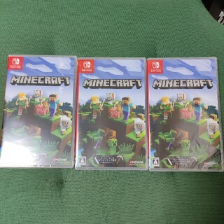 Nintendo Switch - 【新品未開封】マインクラフト 3本セット