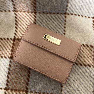 Furla - フルラ 折り財布 三つ折り ミニ財布 ピンクベージュ