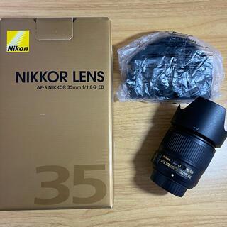 Nikon - Nikon  レンズ AF-S 35mm f1.8G ED (フルサイズ対応)