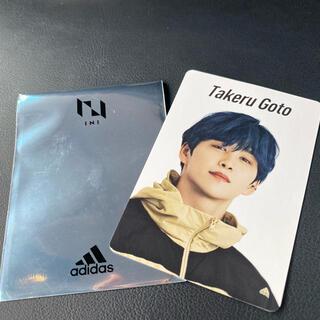 adidas - INI トレカ 後藤威尊
