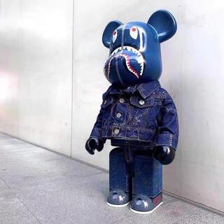 bearbrick 1000%✖️LEVI'S✖️BAPE (ジーンズ付)