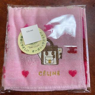 celine - セリーヌ ハンドタオル ピンク