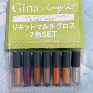 Gina付録 リキッドマルチグロス 7本