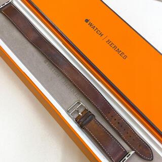 アップルウォッチ(Apple Watch)のエルメス Apple Watch 38,40mm アップルウォッチ レザーベルト(レザーベルト)