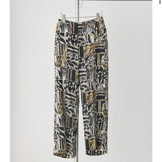 トゥデイフル(TODAYFUL)の今週限定価格‼️ Patchwork Pattern Trousersサイズ36(カジュアルパンツ)