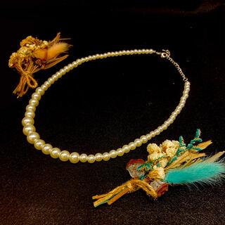 パールネックレス pearl necklace