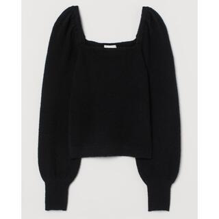 パフスリーブセーター H&M