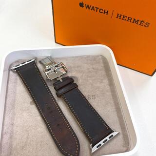 アップルウォッチ(Apple Watch)のHERMES レザーベルト Apple Watch 42mm用 アップルウォッチ(レザーベルト)
