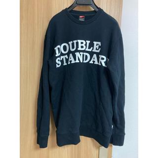 ダブルスタンダードクロージング(DOUBLE STANDARD CLOTHING)のダブルスタンダードクロージング ロゴ スウェット(トレーナー/スウェット)