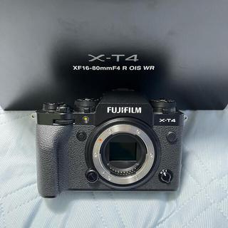 富士フイルム - FUJIFILM X-T4 ボディ