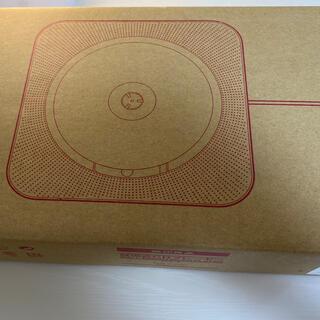 ムジルシリョウヒン(MUJI (無印良品))の無印良品 壁掛け式CDプレーヤー(ポータブルプレーヤー)