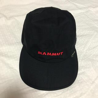 Mammut - マムート キャップ ゴアテックス 黒