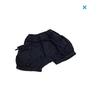 サマンサモスモス(SM2)の【定価半額以下】サマンサモスモス☆新品☆100☆ショートパンツ・ネイビー(パンツ/スパッツ)
